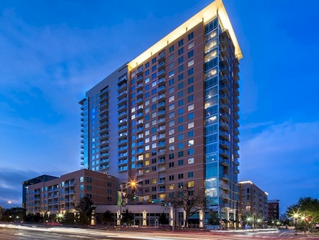 View from Central Expressway