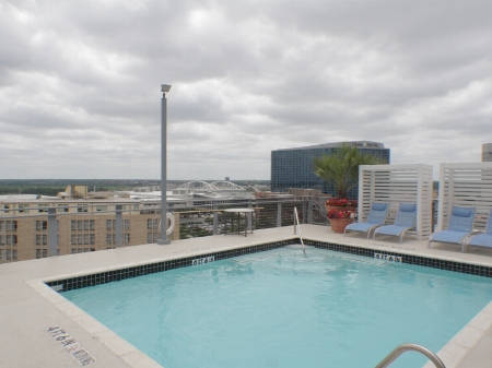 Pool overlooking Dallas