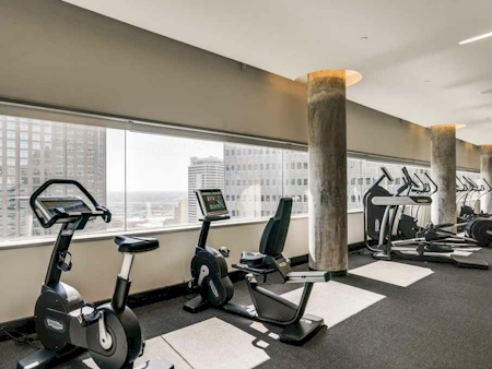 5,000 sf Fitness Center featuring Technogym<br>